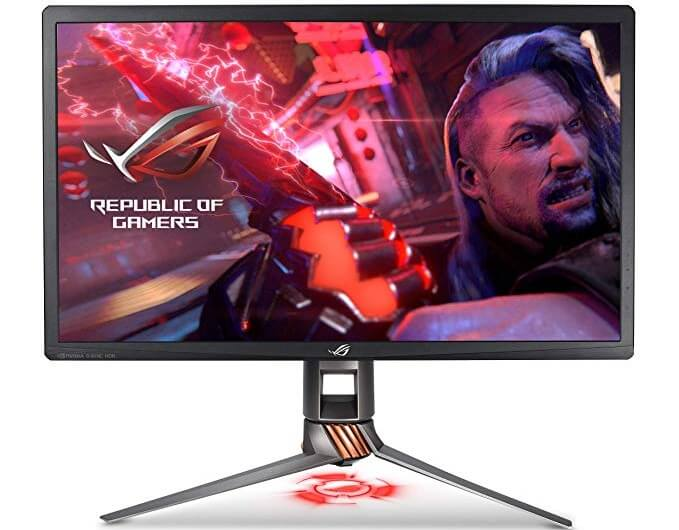 ASUS ROG Swift PG27UQ 27 Inch 4K UHD IPS Gaming Monitor
