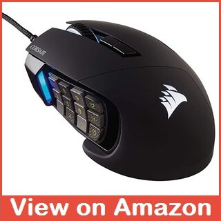 Best MMO Gaming Mouse - CORSAIR Scimitar Pro RGB