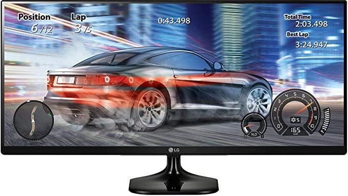 LG 25UM58-P 25 Inch UltraWide IPS Gaming Monitor
