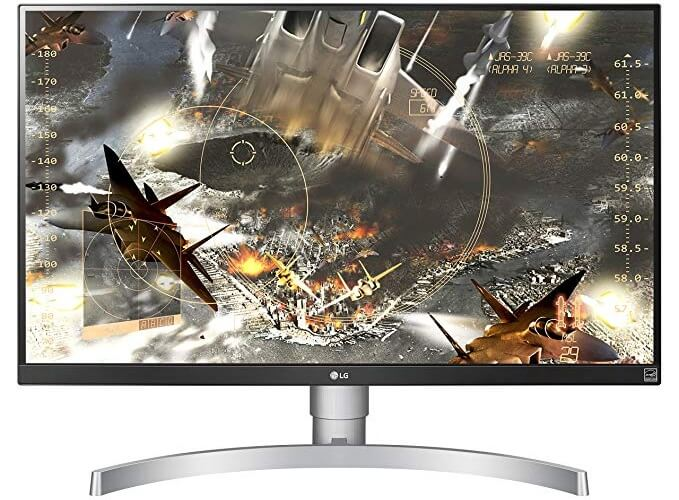 LG 27UK650-W 27 Inch 4K UHD IPS Gaming Monitor