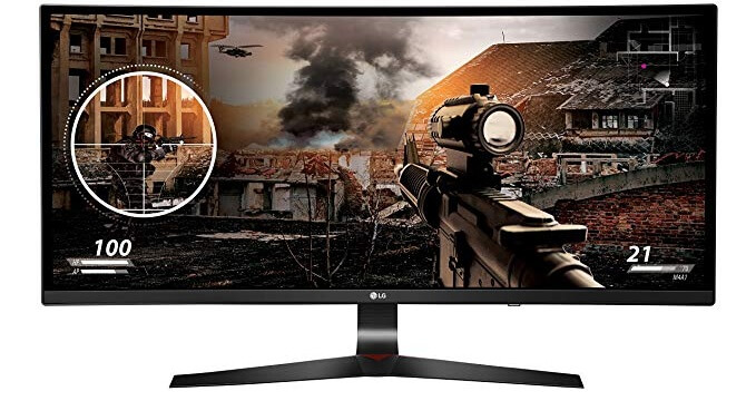 LG 34UC79G-B 34 Inch Curved UltraWide IPS Gaming Monitor