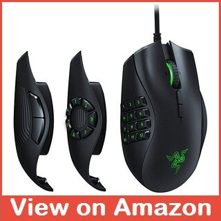 Best Gaming Mouse for MOBAs - Razer Naga Trinity