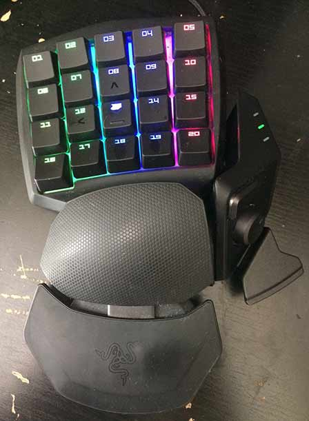 Condition after 7months using of Razer Orbweaver Chroma 30 Programmable Keys